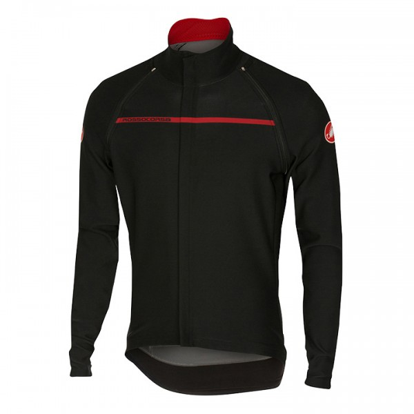 CASTELLI Kurzarm-Light Jacket Perfetto Convertibile schwarz D1746K1209