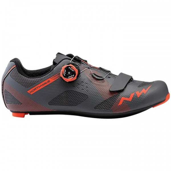 2019 NORTHWAVE Rennradschuhe Storm grau - orange