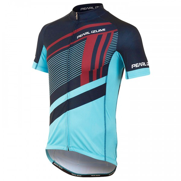 PEARL IZUMI Kurzarmtrikot Elite Escape LTD Ascend Blue blau - rot D8924W6761