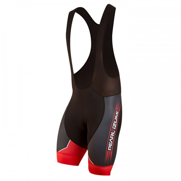 PEARL IZUMI kurze Trägerhose Elite Pursuit LTD True Red schwarz - rot R1433X9768