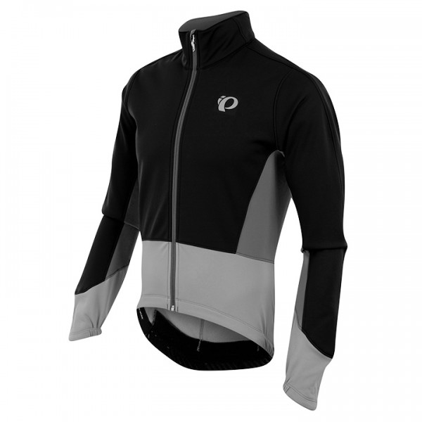 PEARL IZUMI Winterjacke Elite Pursuit Softshell grau - schwarz Z5186L5754