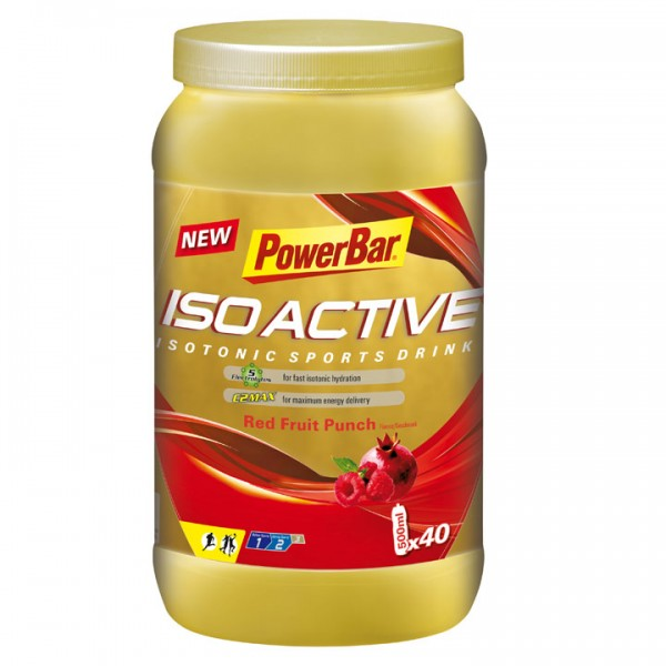 POWERBAR Isoactive-Isotonic Sports Drink Red Fruit Punch B4007P4754