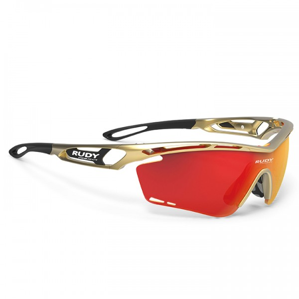 2019 RUDY PROJECT Radsportbrille Tralyx gold