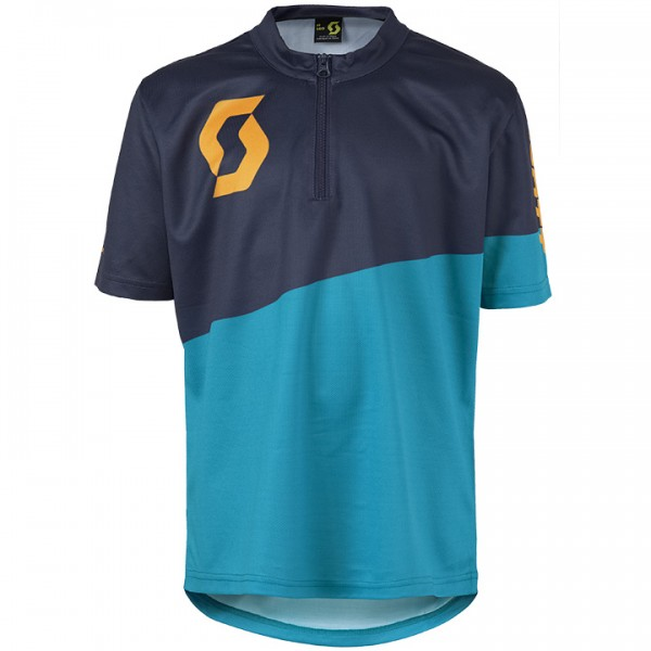 SCOTT Bikeshirt Progressive Pro blau-orange P3397M7928