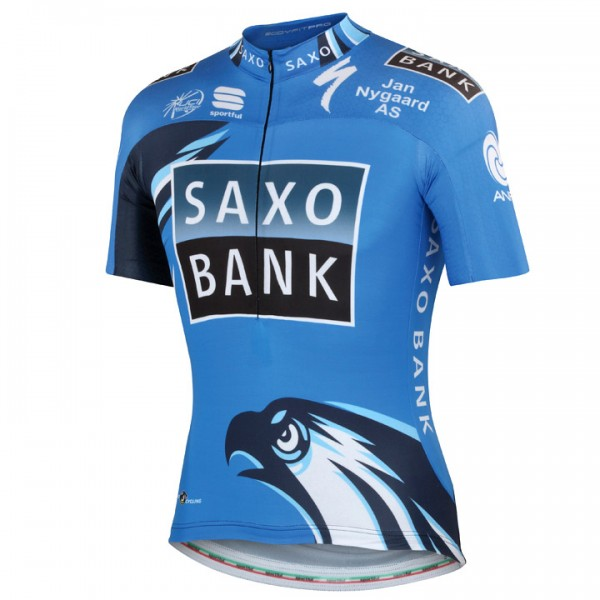Team SAXO BANK Kurzarmtrikot Pro Race 2012 P9470P5239