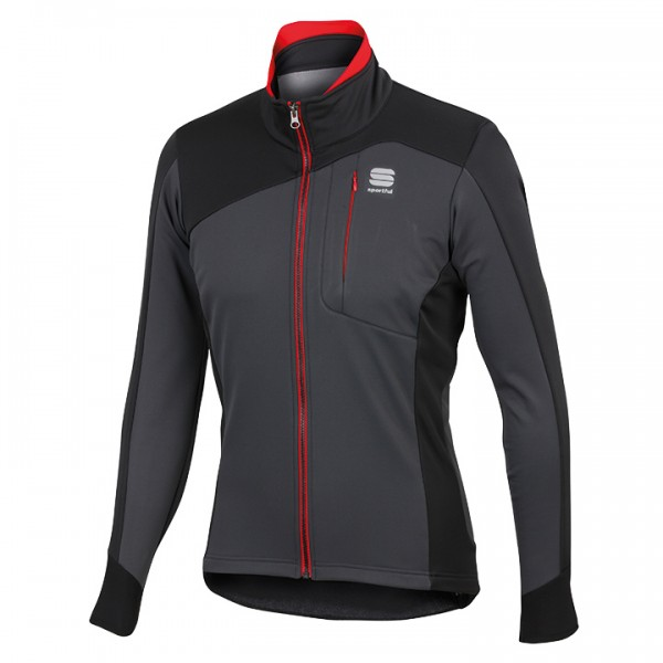 SPORTFUL Winterjacke Edge Softshell anthrazit-schwarz U3769B4476
