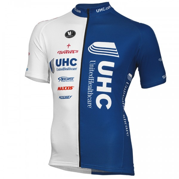 UNITED HEALTHCARE PRO CYCLING Kurzarmtrikot langer RV 2014 T3882Q6969